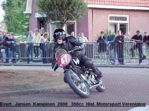 Evert Jansen Velocette 350cc